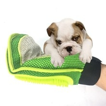 Cat Pet Dog Grooming Glove Mitt Brush Comb Massage Bath Hair Removal Gloves Combs Brushes Grooming G