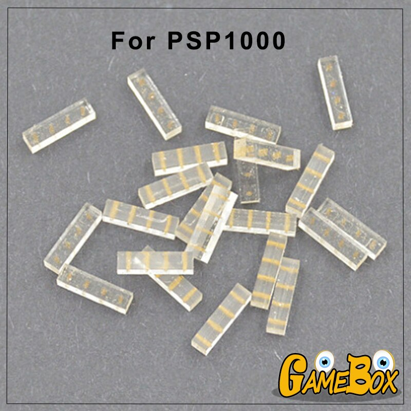Almohadilla de goma conductora de contacto de Joystick analógico Original para 3D Sony PSP 1000, pegamento de goma basculante 3D para PSP1000 1 Uds.