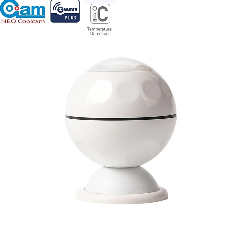 NEO COOLCAM NAS-PD02Z Sensor de movimiento z-wave Plus PIR + temperatura domótica sistema de alarma de onda Z Sensor de movimiento EU 868,4 MHZ