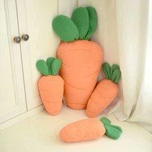 38cm Simulation créative en peluche peluche carotte farcie avec coton Super doux oreiller cadeau intime pour fille