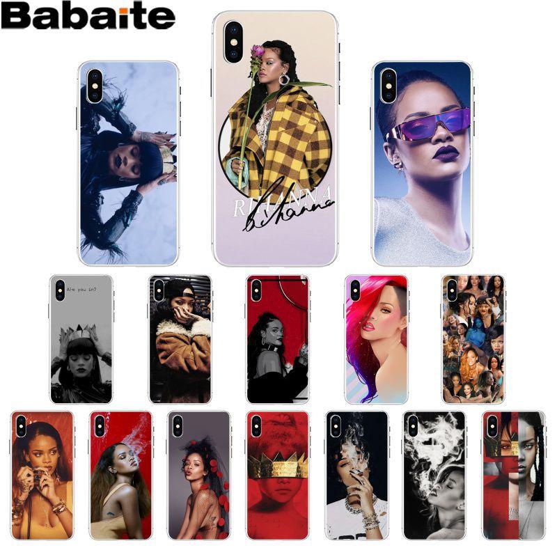 Babaite Rihanna анти Travail Drake TPU Мягкий силиконовый чехол для телефона iPhone X XS MAX 6 6S 7 7plus 8 8Plus 5 5S XR