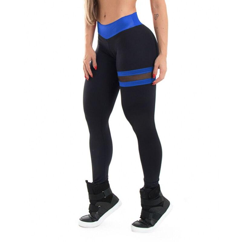 SALSPOR gimnasio malla Leggings de mosaico Fitness mujeres Push Up alta cintura pantalones de entrenamiento mujer transpirable Running Leggings deportivos