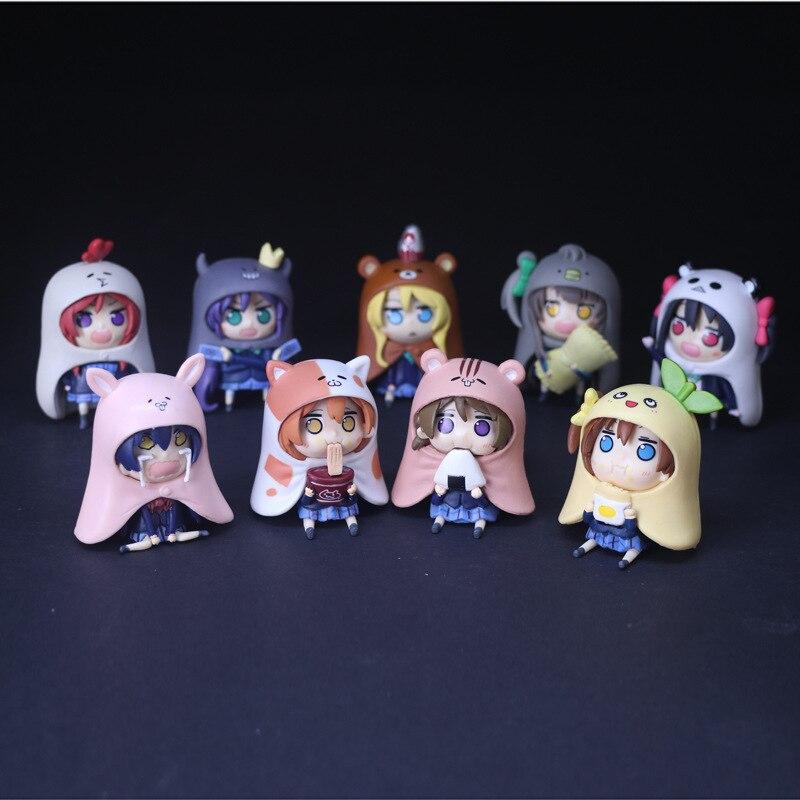 ¡Anime amor vivo Minami Kotori Kousaka Honoka Maki Nishikino porque Himouto! Umaru-chan Himono Onna Umaru Doma PVC figura de acción de juguete