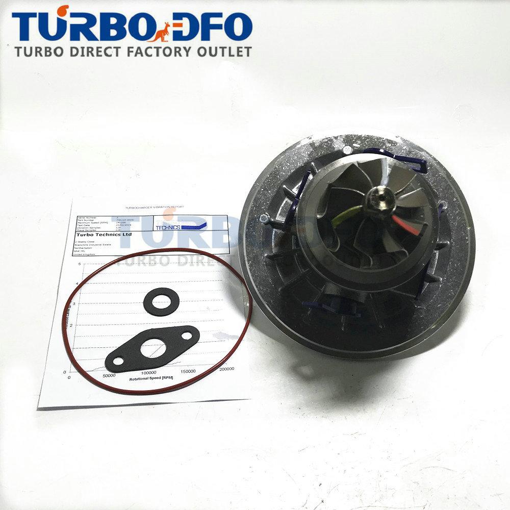 Cargador Turbo 736210-5009 736210-0009 cartucho de turbina de ensamblado equilibrado CHRA GT22 para camión Isuzu JMC E2 JX493ZQ 93HP 1118300SZ
