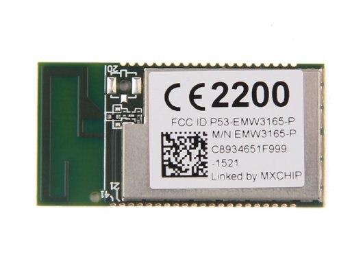 EMW3165-Módulo WiFi SoC con base Cortex-M4