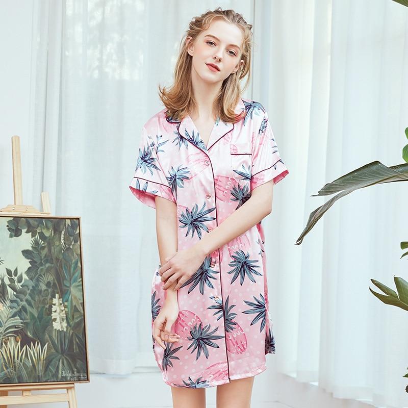 Señora nueva bata Kimono de verano chino rayón de Mujer traje de baño corto Yukata camisón Pijama Mujer M-XL