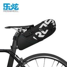 ROSWHEEL Новинка MTB велосипедная сумка велосипедное седло Хвост заднего сиденья водонепроницаемые сумки для хранения аксессуары Высокая емкос...