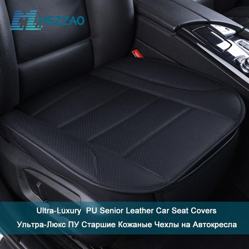 Ultra-Lujo asiento de cuero PU de protección de la cubierta de asiento de coche para Chevrolet Impala girar Epica Malibu Cruze Epica Captiva Equinox