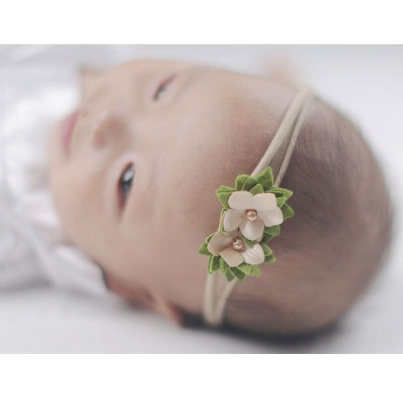 Faixas de cabelo elásticas para bebês, 3 peças terno de princesa floral, laço de elástico para crianças, faixas de cabelo elásticas, bonitas, acessórios de cabelo para presente