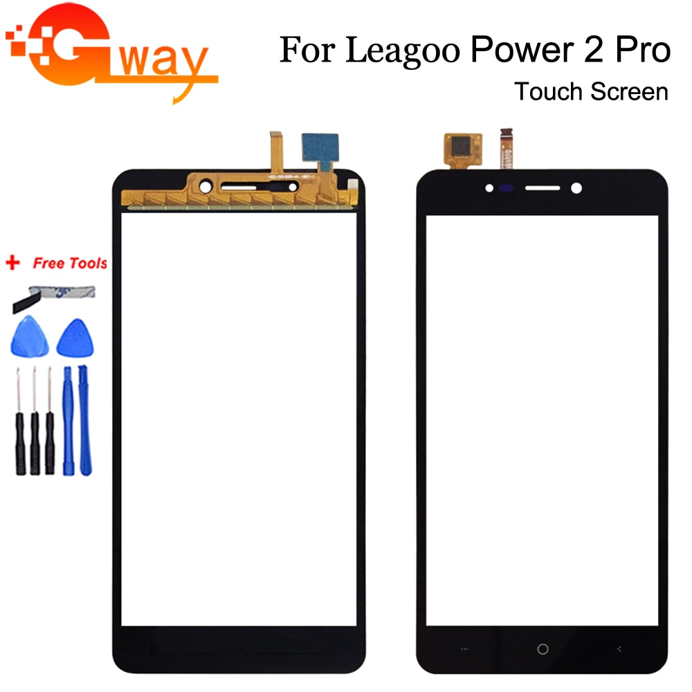 For Leagoo Power 2 Pro Touch Screen Digitizer Touch Panel Perfect Repair Parts Mobile Phone Accessor