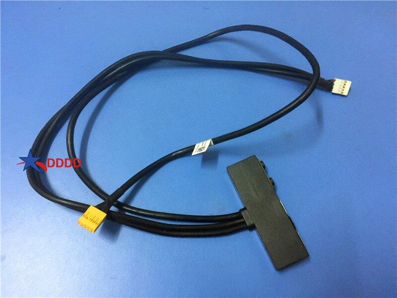 Original para dell xps 8700 frente usb áudio i/o placa cabo 07844f 7844f CN-07844F totalmente testado