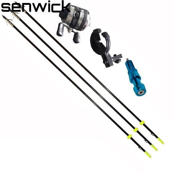 3 stücke Angeln Pfeil Und Bogen Angeln Spincast Reel Für Compoundbogen Und Recurve Bogen Schießen Tool Fisch Jagd Bogen angeln