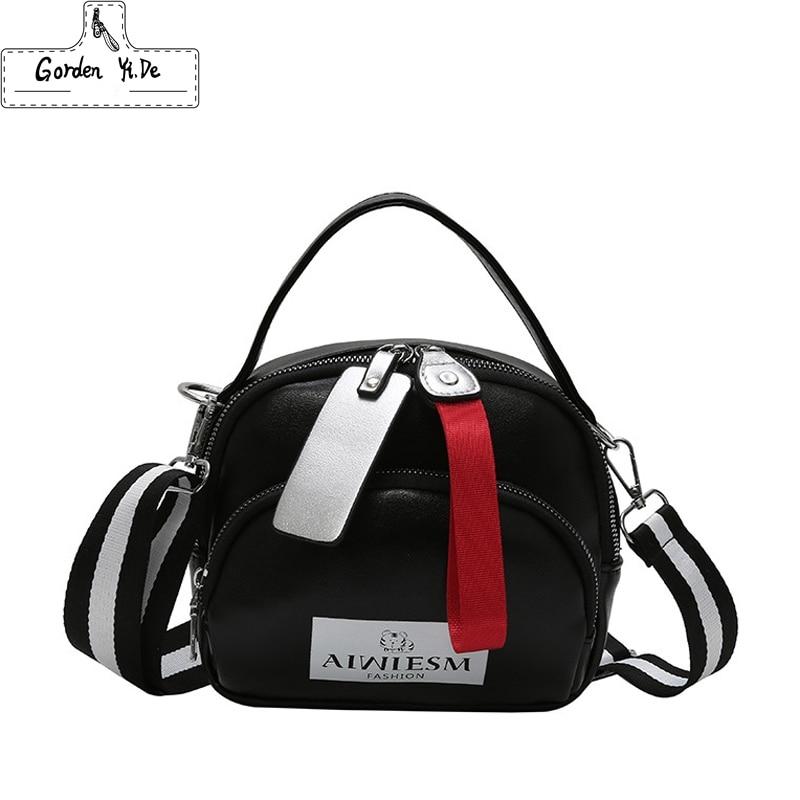 Famous Brand Women Handbag Brand Luxury Leather 2019 Woman Bags for Women Luxury Bag Shoulder Strap Female Crossbody Bag Smaens