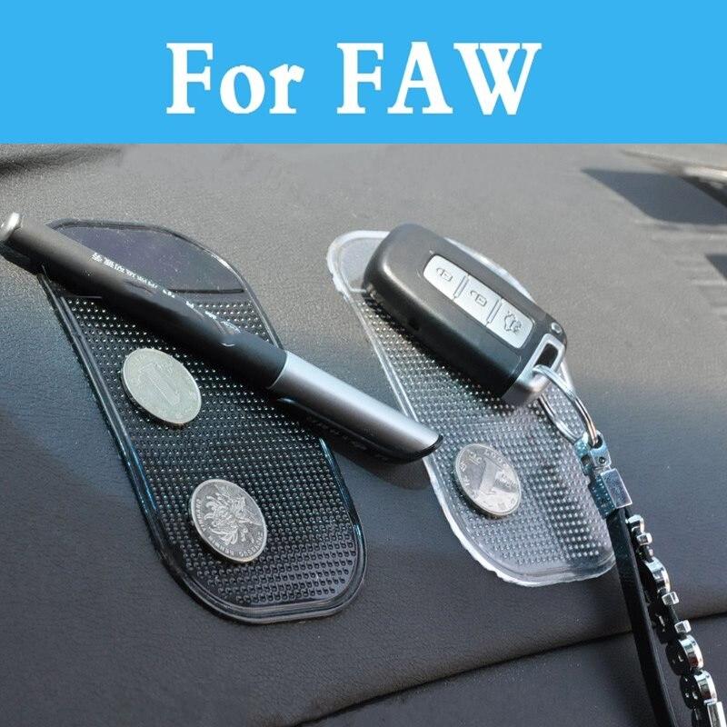 Lindo fácil de usar antideslizante Super coche de estilo Interior pegajoso mágico Pad Mat para Faw X80 Jinn Oley Besturn b70 V2 V5 Vita B50