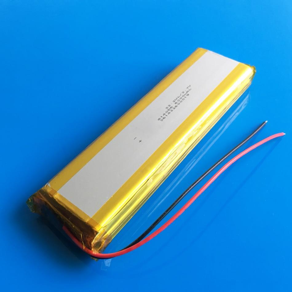 3,7 V 12000mAh 1640138 combinación recargable lipo polímero de litio li-ion batería para banco de energía tableta PC laptop PAD PCM tablero