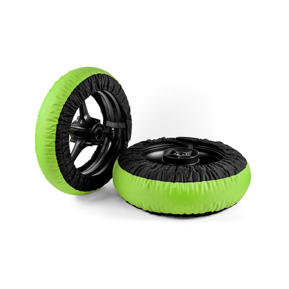 Calentadores de neumáticos no digitales para motocicleta, para carreras, delanteros y traseros,...
