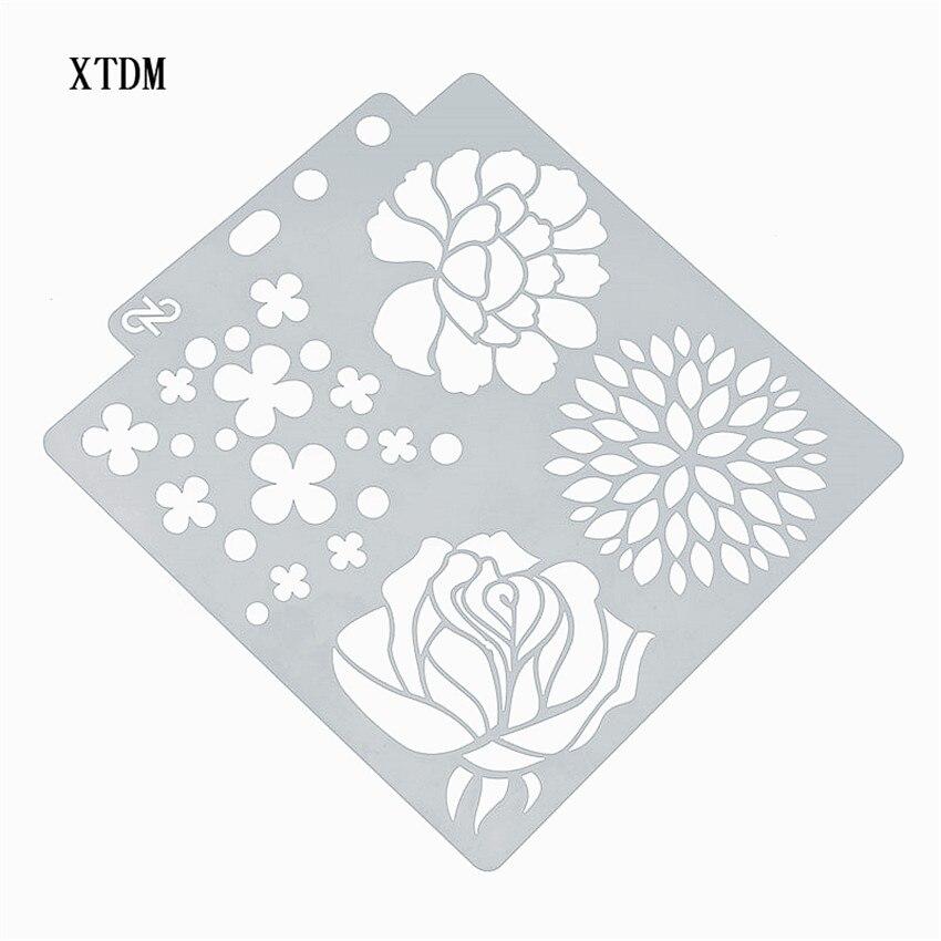 Trébol de cuatro hojas plástico molde escudo DIY pastel álbum de recortes plantillas hueco adornos impresión regla de lazo Día de San Valentín
