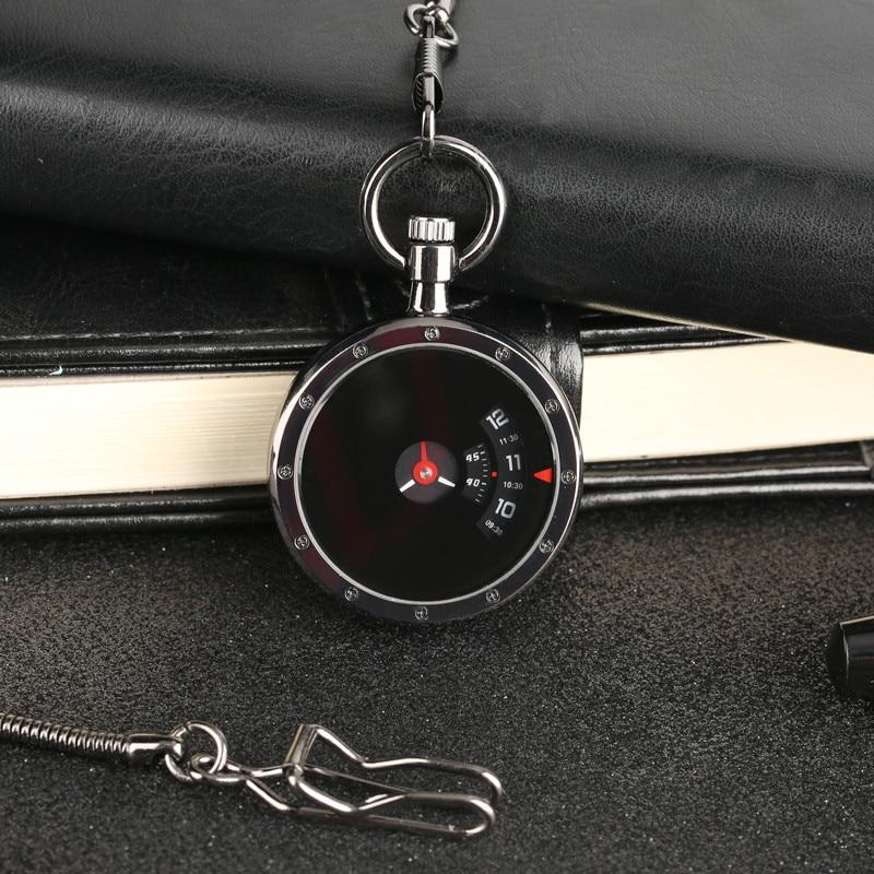 High Quality Open Face Unique Design Retro Quartz Fob Pocket Watch Punk Cool Men Women Fashion Pendant Clock Best Gift 2018