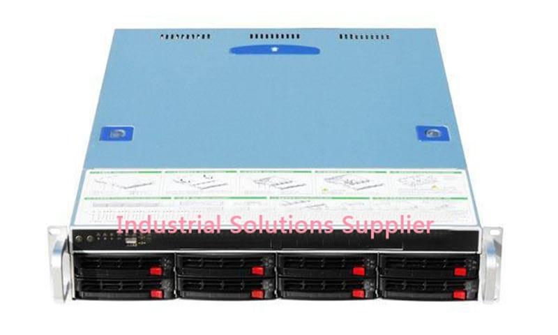 New Top 2U550-8 Plate Hot Pluggabel Computer Case Belt Notum SAS