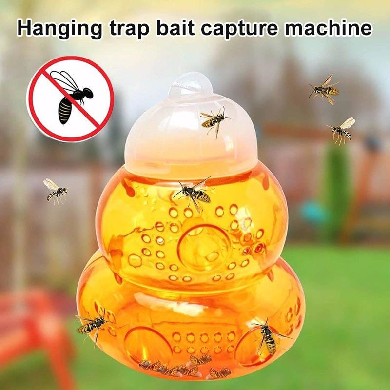 Atrapasueños de avispas, trampa, cebo que cuelga, Mata abejas, chaquetas amarillas, Hornets, abejas, HG99