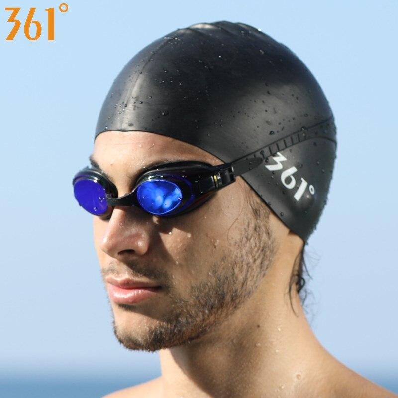 aliexpress.com - 361 Silicone Swimming Cap for Men Women Swimming Pool Cap Waterproof Ear Protection Professional Water Sports Kids Swim Hat