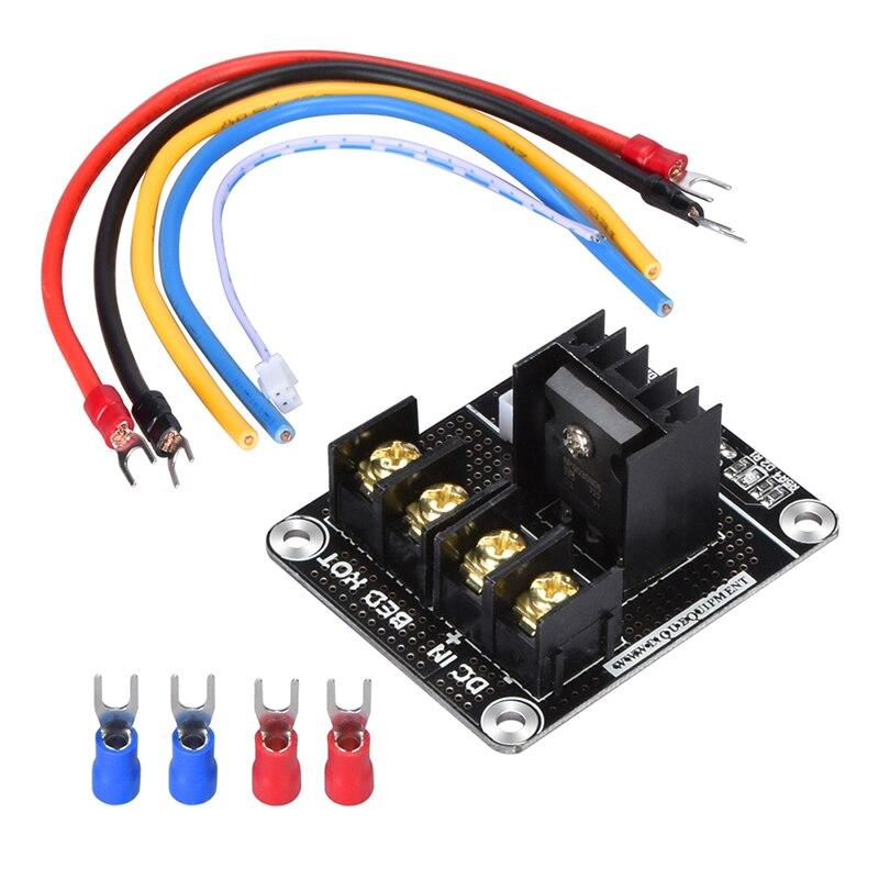 BIQU Новое прибытие 3D Принтер Горячая кровать Плата расширения питания BTMOS-V2.0/MOS трубка высокая нагрузка модуль/модуль для 3D принтера