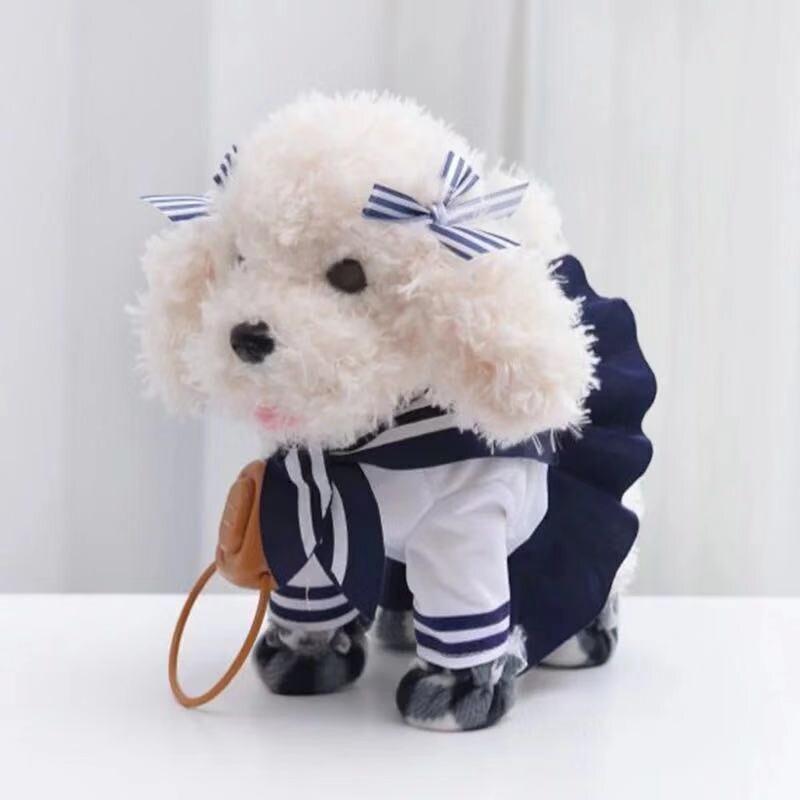 Новая кукла, ходячая, пение, музыкальный робот, электронная игрушка для домашних животных, Интерактивная, электрическая, плюшевая игрушка д...