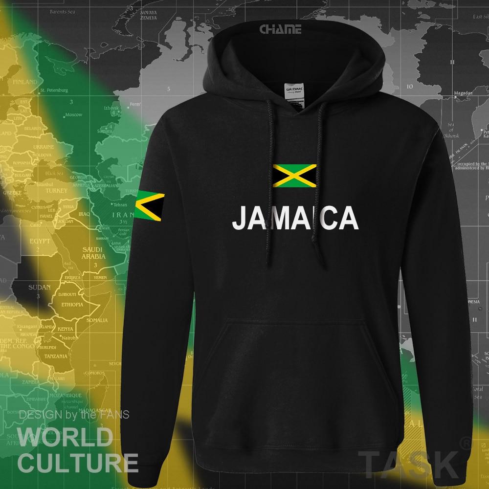 Толстовка ямайская Мужская, толстовка в стиле хип-хоп с новым флагом