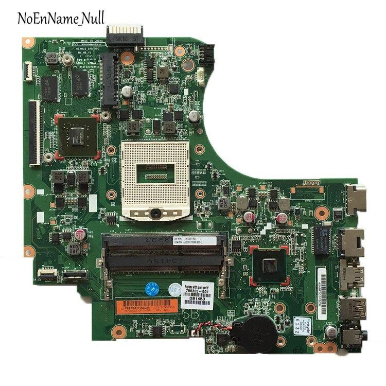 766323-001 766323-501 placa base para portátil 766323-601 para HP 15-D 250 G2 placa base DDR3 rPGA989... 100% de trabajo