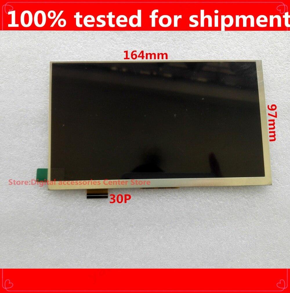 NUEVA TABLETA Tricolor GS700 de 7 pulgadas, matriz de pantalla LCD de 30 Pines, reemplazo del Panel de pantalla TFT LCD de 1024*600