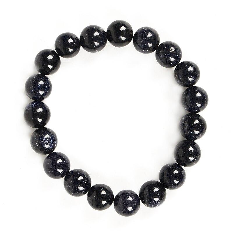 Brillante en la oscuridad con las venas blancas combina con cualquier color a su disposición, pulsera de satisfacción obsidiana negra, negocio favorito.