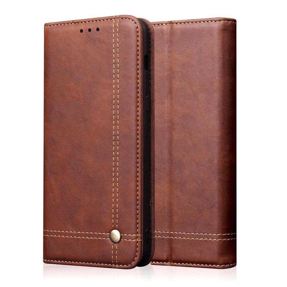 Cartera Flip funda para Huawei Honor P 10 Smart Plus disfrutar de 9 s Y6 Pro2019 Y72019 Y7 Pro2019 cubierta caja del teléfono ranura para tarjeta Stander
