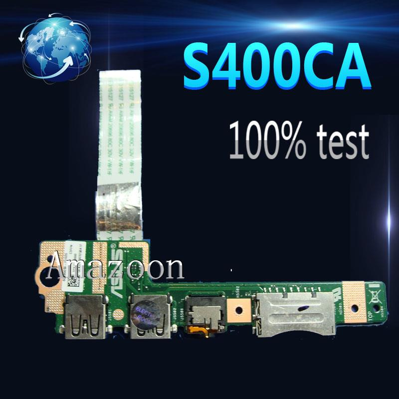Original para S400C S400CA S500C S500CA IO Junta portátil USB de Audio de IO de la interfaz de tarjeta SD REV 2,0 de 2,1 de 3,1