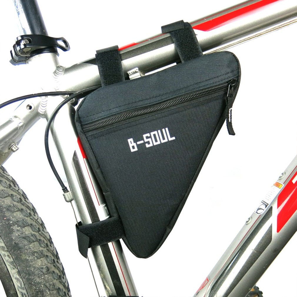 Bolsa triangular de tela Oxford para bicicleta, bolsa para tubo delantero, bolsa impermeable para ciclismo, bolsa de embalaje, accesorios para bicicleta