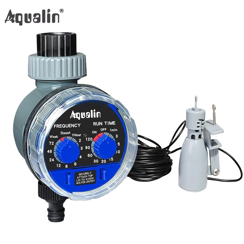 Шаровой клапан с таймером для садовой воды, автоматический контроллер 21025A и датчик дождя 21103 # 21025R, Новое поступление