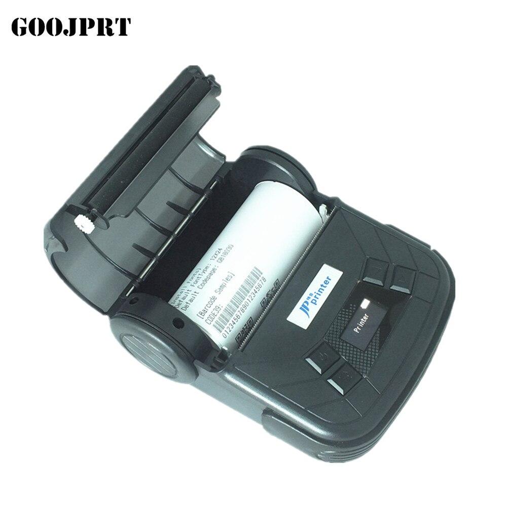 Impresora térmica portátil de 80mm con Bluetooth, impresora de recibos con Bluetooth, puerto USB/serial para impresora térmica de recibos Windows Android
