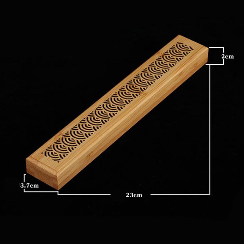 Китайский Ancien ручной работы бамбуковый держатель для благовоний горелка Joss коробка палочка держатель чехол
