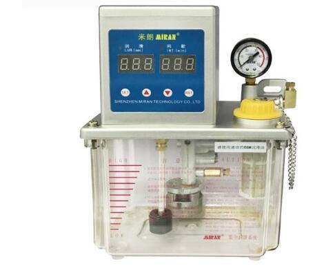 Bomba de aceite lubricante tipo volumétrico autocontrol Miran 2L MR-2232-210XAB para máquina de moldeo por inyección con interruptor de presión Typ