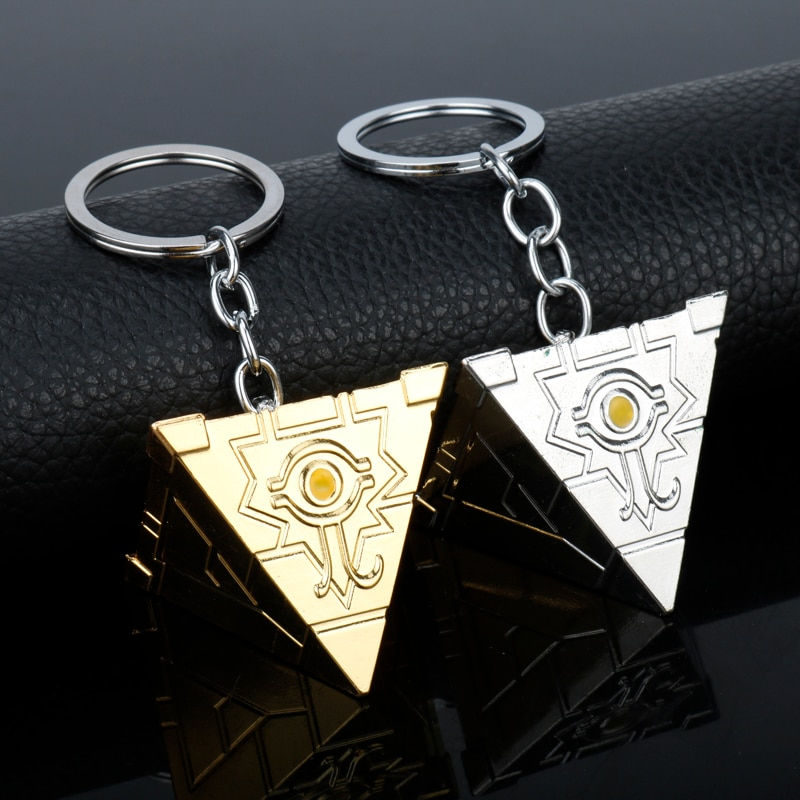 Dongsheng 3D Yu-Gi-Oh брелок Аниме Yugioh Millenium брелок игрушка Yu Gi Oh Косплей Пирамида Египетский Глаз Гора брелок