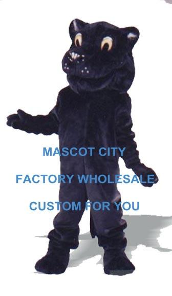 Patrick Pantera mascota traje Deluxe tamaño adulto bosque Animal salvaje bestia disfraces Cosplay carnaval Mascotte ajuste Kit de SW1074