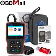 Оригинальный Автомобильный диагностический инструмент CREATOR C502 OBD2, Автомобильный сканер для Mercedes Benz W211 W203 W124 OBD2, считыватель кодов ошибок двигателя