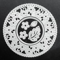 scd857 metal cutting dies for scrapbooking stencils flower circle diy cut album cards decoration embossing folder die cuts tools