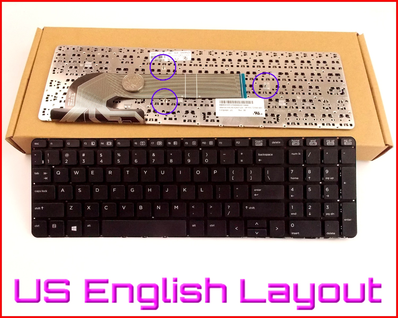 New Keyboard US English Version for HP PROBOOK 450 G2 470 G2 SN8126 90.4ZA07.L01 6037B0088501 721953-B31 Laptop