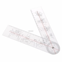 Goniometer Winkel Lineal Regel Joint Orthopädie Werkzeug Instrumente Kunststoff Winkel Lineal M20 dropshipping