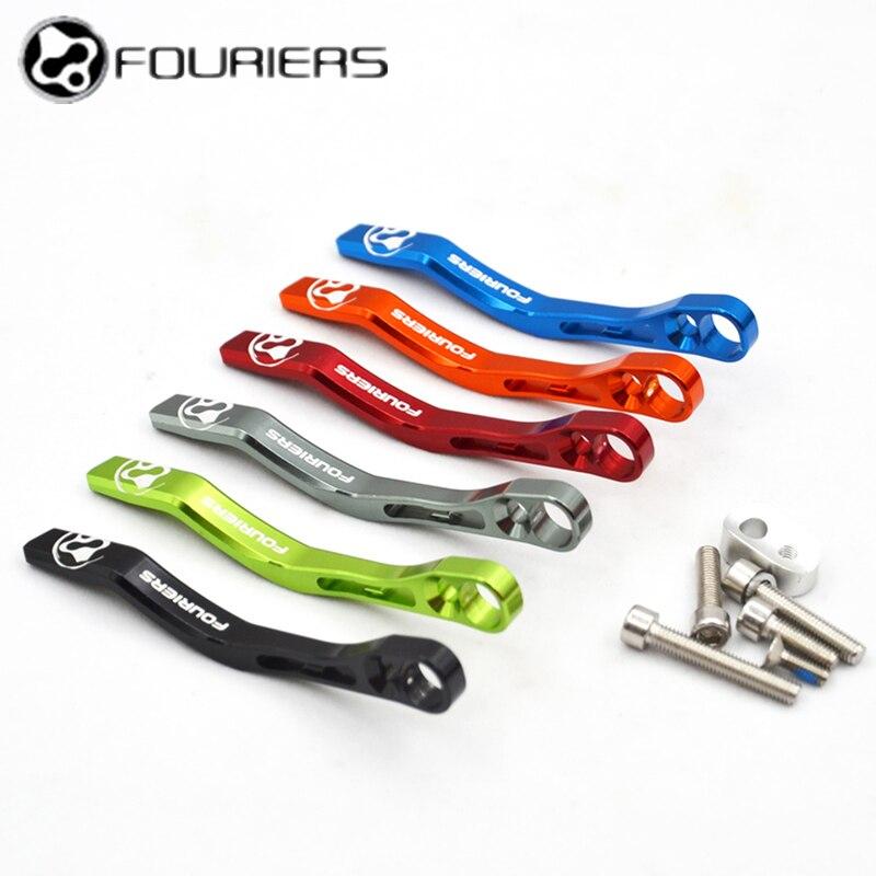Алюминиевые цепи с ЧПУ Fouriers для защиты велосипеда, защита велосипедной цепи 34 T-50 T 36 T-52 T 39 T-53 T