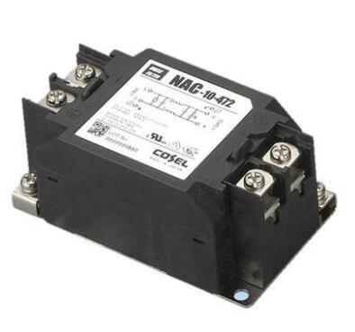 Filtros de Línea de alimentación AC 1-250 / DC250 6A 0,5 mA NAC-06-472-D