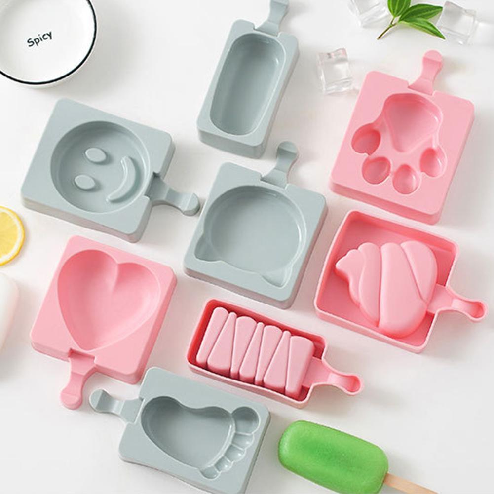 8 шарпов силиконовые формы мороженое ледяное Мыло Свеча помадные формы конфеты шоколадная глина украшения торта инструменты Кухня DIY 4