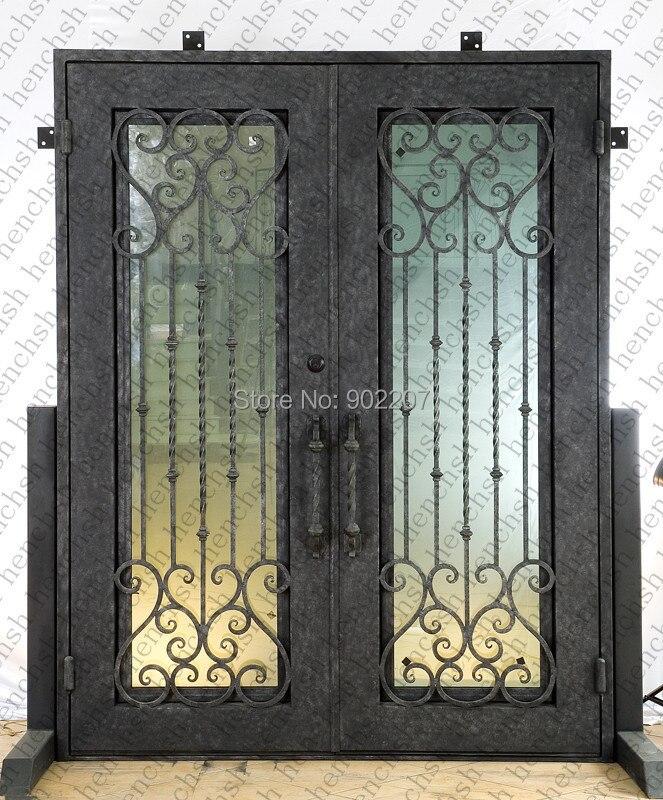 Hench 100% أبواب معدنية من الحديد الصلب