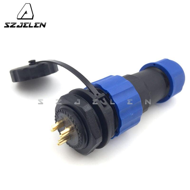 Водонепроницаемый разъем, 3 pin, разъем светодиодного кабеля, IP68, промышленный кабель питания, разъем провода,