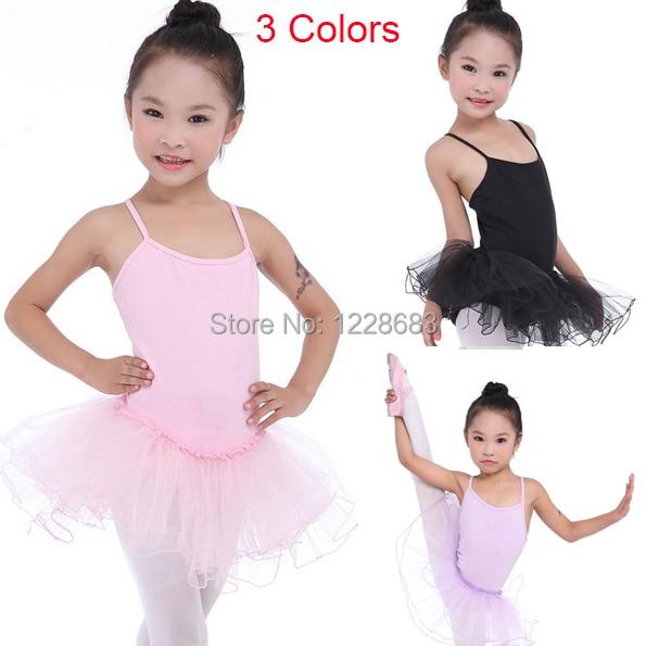 Niños Niñas Vestido de tutú de Ballet ropa de baile ropa de Vestidos Danza Nina Ballet Vestido Bailarina Roupa Ballet Meninas